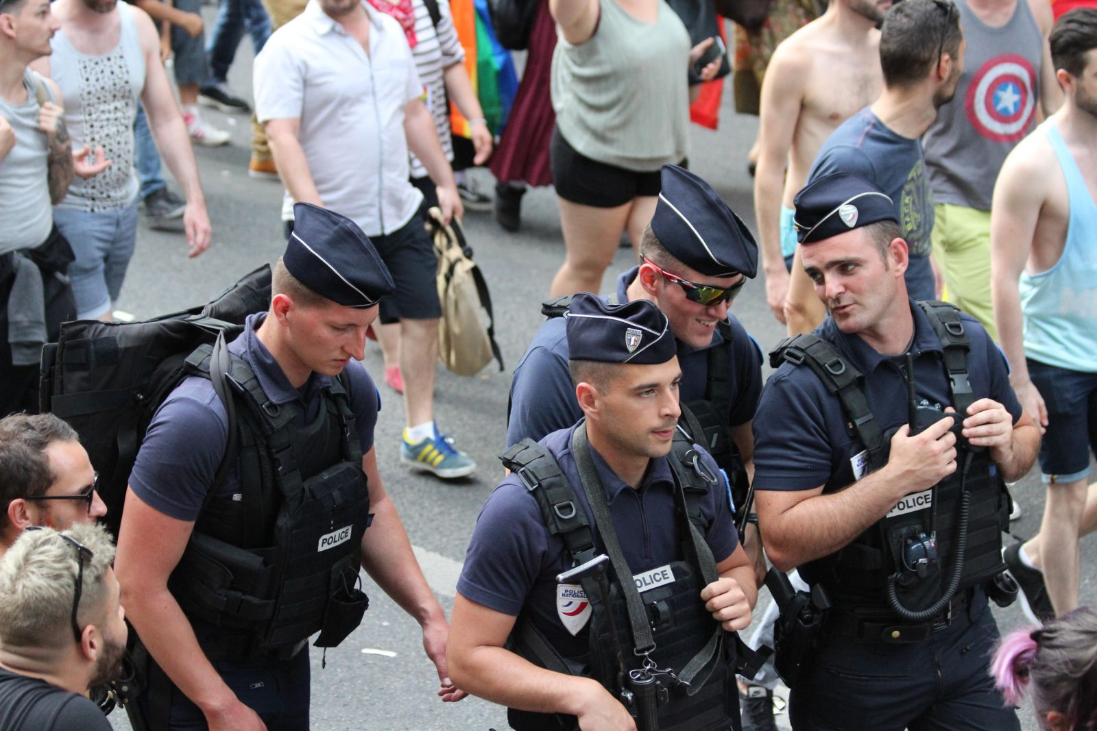 Program of Paris Gay Pride