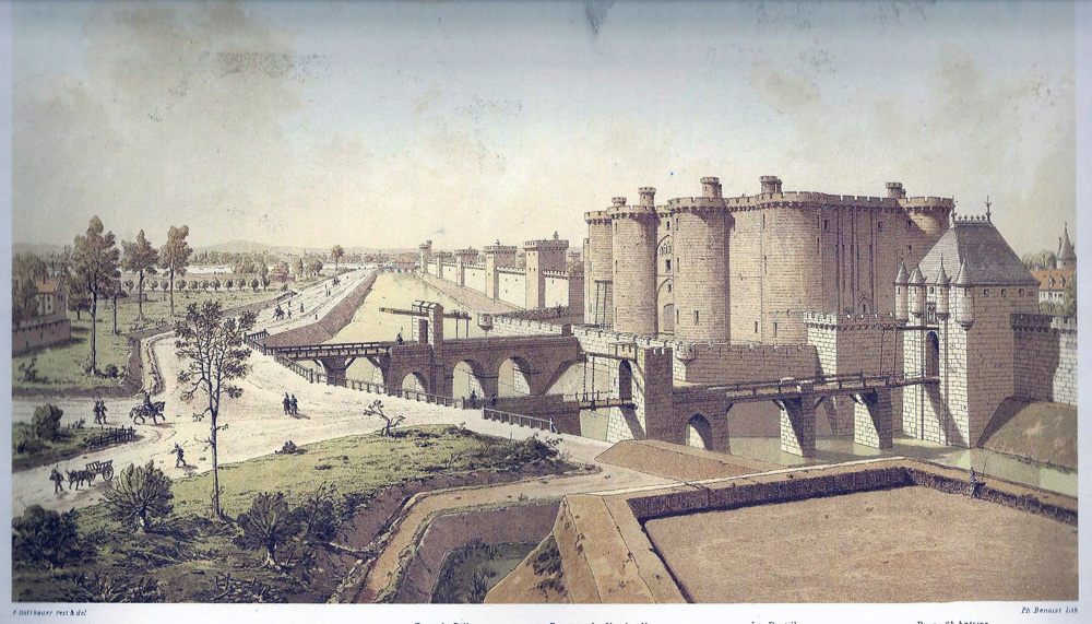 La Bastille in 1420