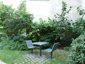 Jardin Anne Frank Le Marais