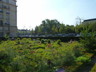 Jardin de l'hotel de Sens Le Marais