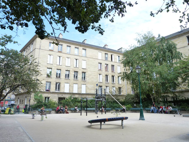 Square Charles-Victor Langlois 75003