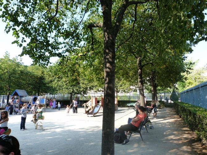 Jardin Albert-Schweitzer Le Marais