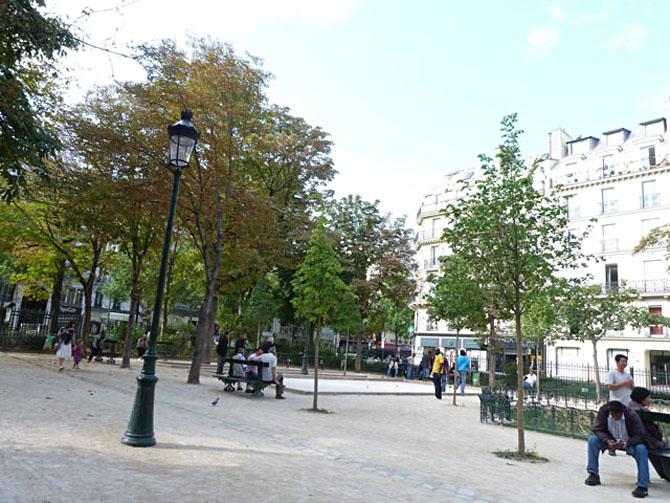 Square Emile Chautemps Le Marais