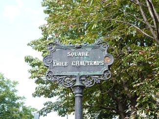 Square Emile Chautemps Le Marais 75003