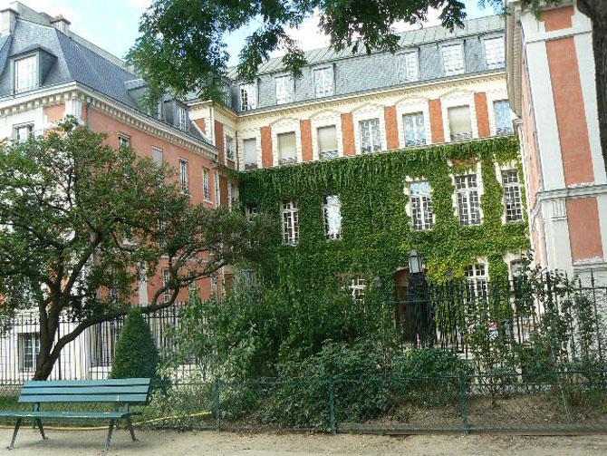 Square Leopold-Achille Le Marais Paris