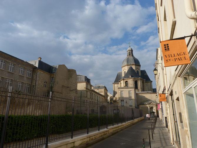 Le village saint paul et l 39 ile saint louis paris for Architecture parisienne