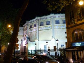 Cafe Theatre Paris  Rue Chapon