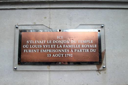 Le donjon du Temple de Paris dit