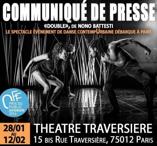 Au théâtre Traversière, DOUBLE de Nono Battesti