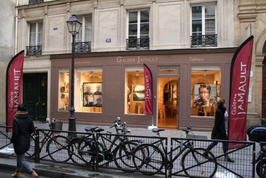 Sylvain Allaire expose à la galerie Jamault