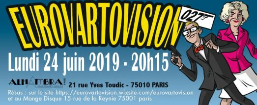 27ème édition de l'Eurovartovision au théâtre de L'Alhambra