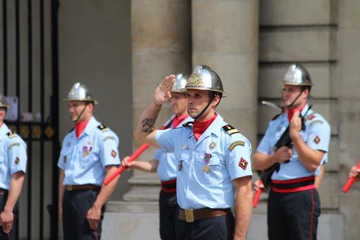 POMPIERS DE PARIS : changement de commandement à la 11ème compagnie