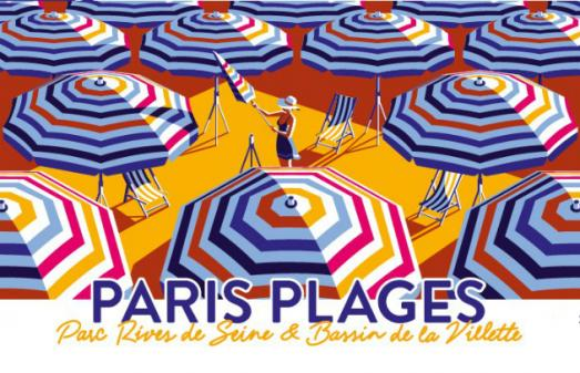 Paris Plages du 6 juillet au 1er septembre 2019