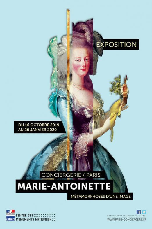 Exposition sur Marie Antoinette du 16 Octobre au 26 Janvier