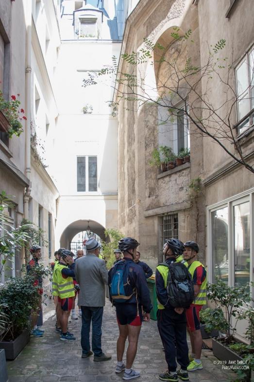 Visite découverte des passages secrets du Marais avec les pompiers de Paris