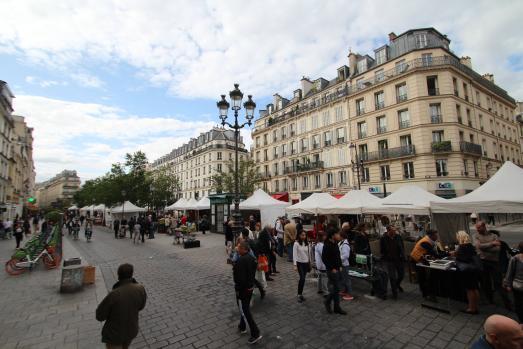 Brocante du Marais dans le 4ème arrondissement