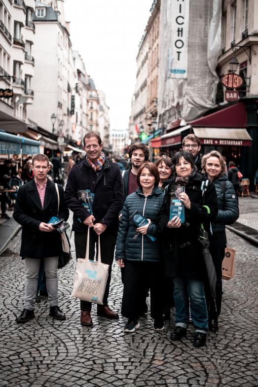 Rencontre avec Aurélien Véron, candidat LR à Paris Centre, à propos du tourisme parisien.