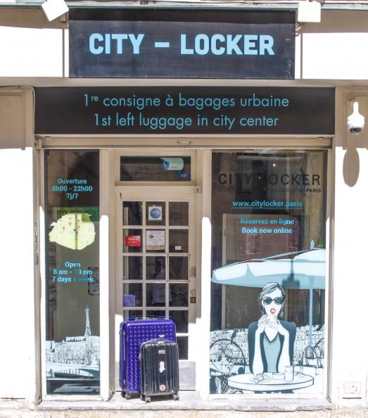 Vos bagages en sécurité à Paris : CITY LOCKER