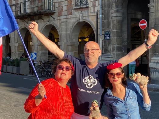 Tournée de promotion du made in France avec Bring France Home