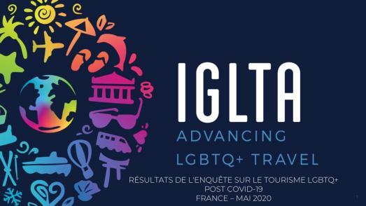 VOYAGE LGBT : résultats de l'étude internationale de l'IGLTA sur l'attitude post Covid.