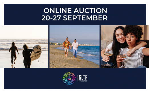 WIN A FANTASTIC LGBT TRAVEL PACKAGE FROM IGLTA'S ONLINE AUCTION