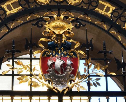 LE BLASON DE PARIS AU MUSEE CARNAVALET