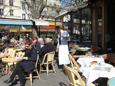 Restaurant marais l 39 etincelle parismarais for Restaurant 24h paris
