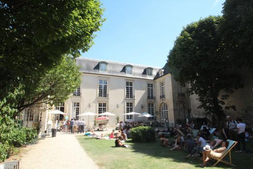 Jardins du Marais / L'hôtel de Marle