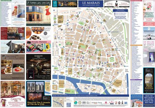 Marais Map 2016 edition available soon