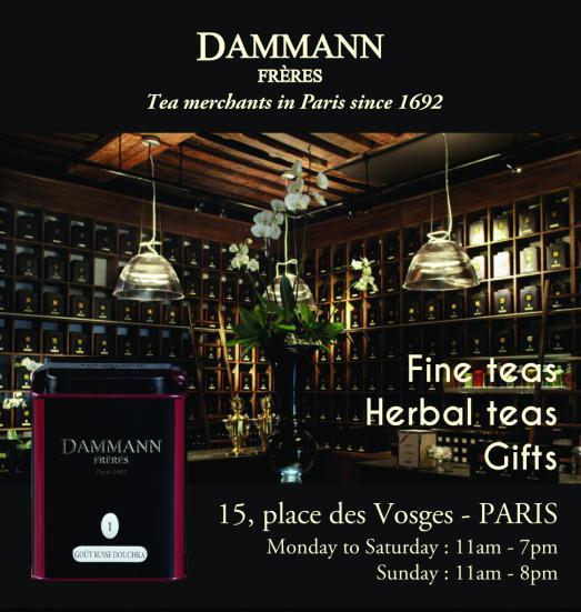 Dammann Frères, l'académie du thé en plein Marais
