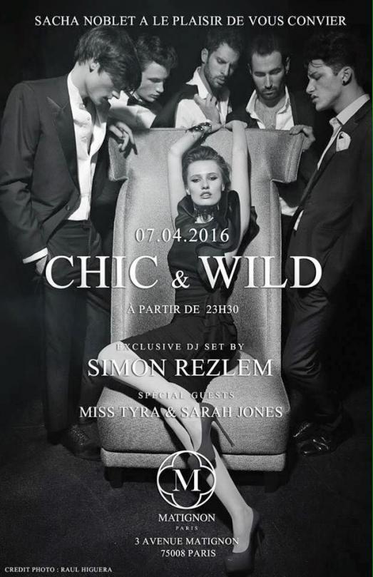 Show CHIC & WILD !