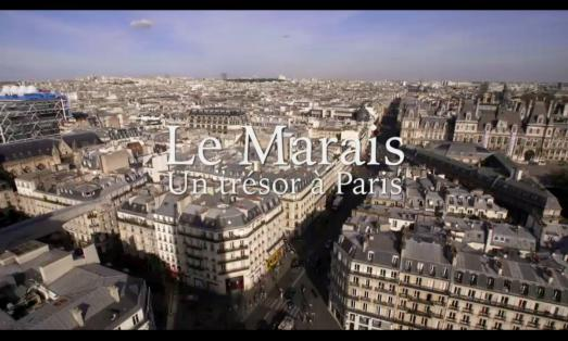 Programme Le Marais, un trésor à Paris, on France 5