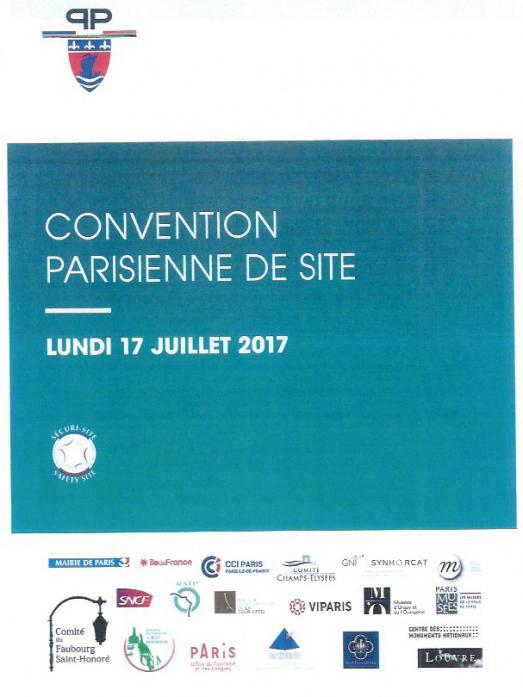 SECURI-SITE : POUR LA SECURITE DES TOURISTES A PARIS