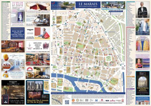 How to find your way in le Marais
