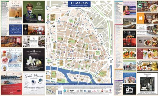 The new Marais map 2018 is out !