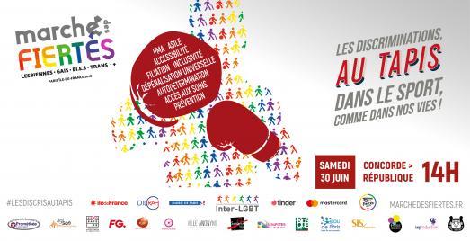 Marche des Fiertés LGBT le 30 juin 2018