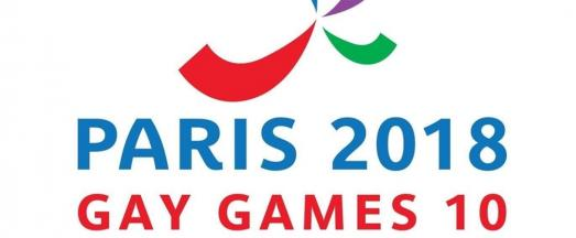 10th Gay Games in Paris from 4 to 12 August 2018