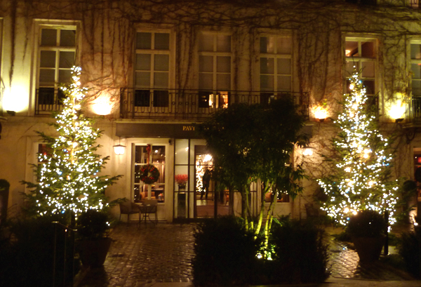 Lights of Christmas in France