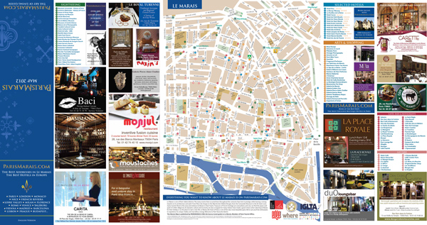 Parismarais map 2012