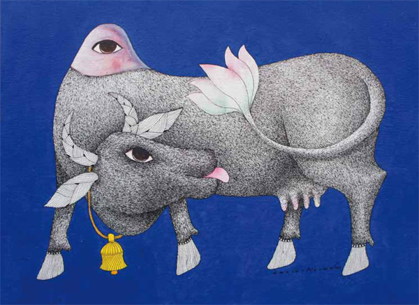 Parcours Nomades : Art tribal Gond - Galerie Anders Hus