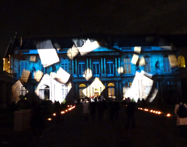 Les Archives Nationales, during museum night on june