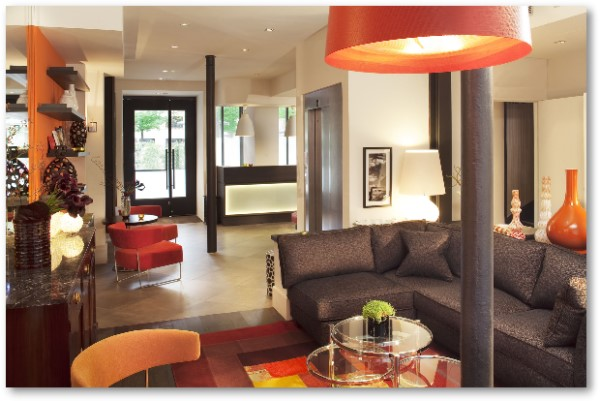 Design hotels in le marais for Bastille hotel