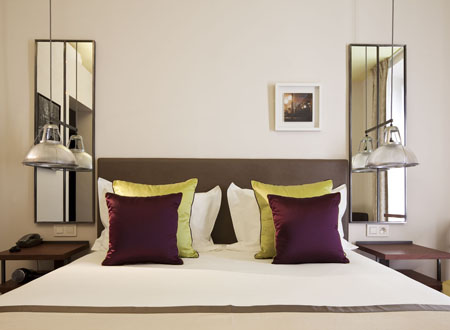 Parismarais hotel design in Le Marais