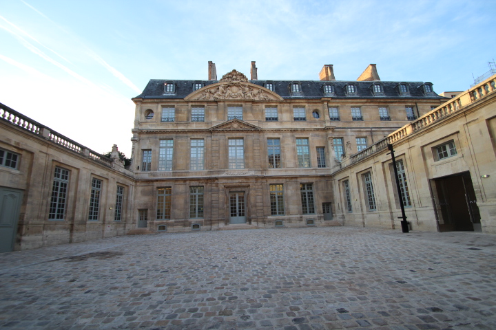 Picasso Museum, in the centerpoint of Le Marais just reopened recently