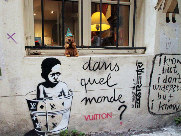 Street Art in The Marais