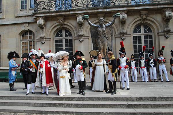 Napoleon in Le Marais