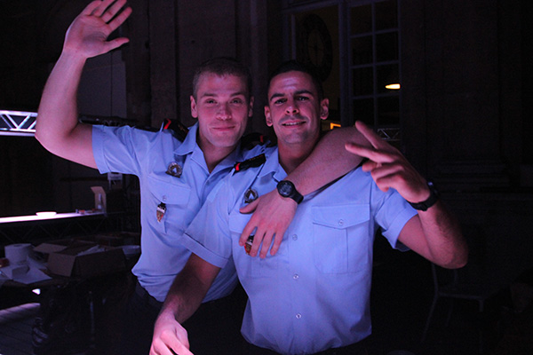 BASTILLE DAY AT SEVIGNE FIRE STATION :  THE MOST SUCCESFUL EVER DANCE PARTY