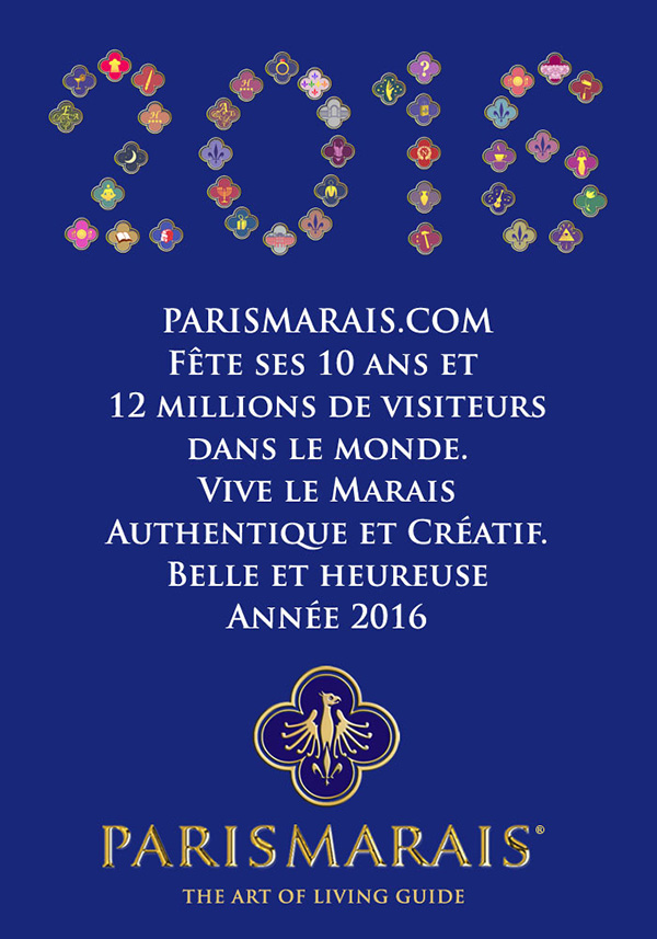 PARIS MARAIS.COM : We wish you a very happy new year
