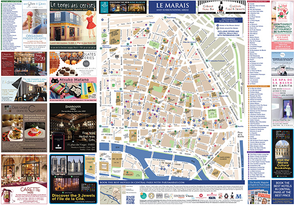 Discover the Best Marais Map You Can Find