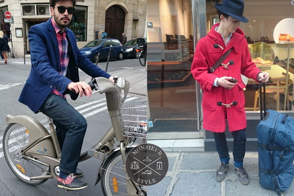 MEN'S FASHION IN LE MARAIS
